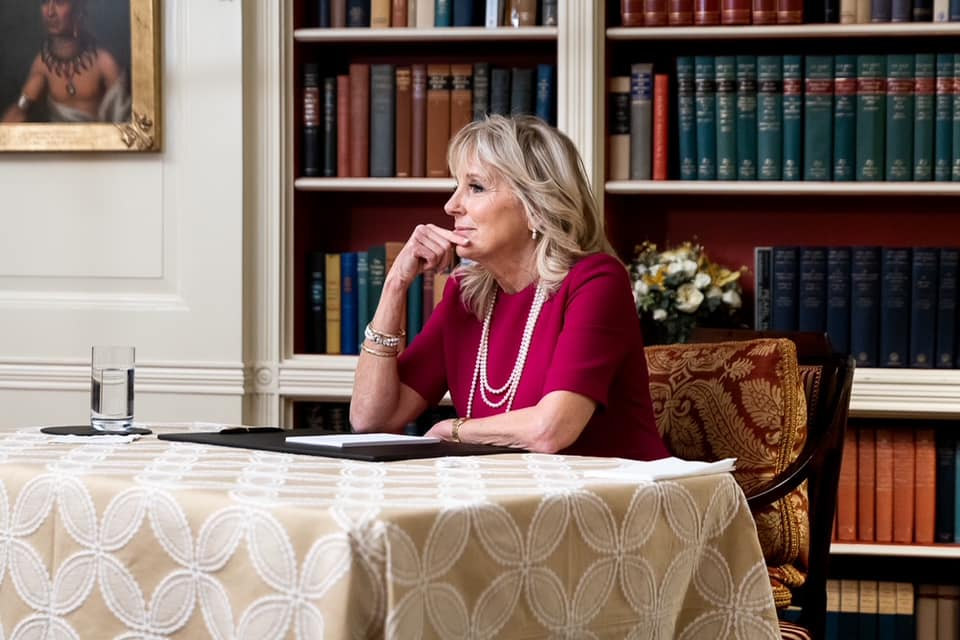U.S. First Lady Jill Biden Visits Utah and Meets with Relief Society General President