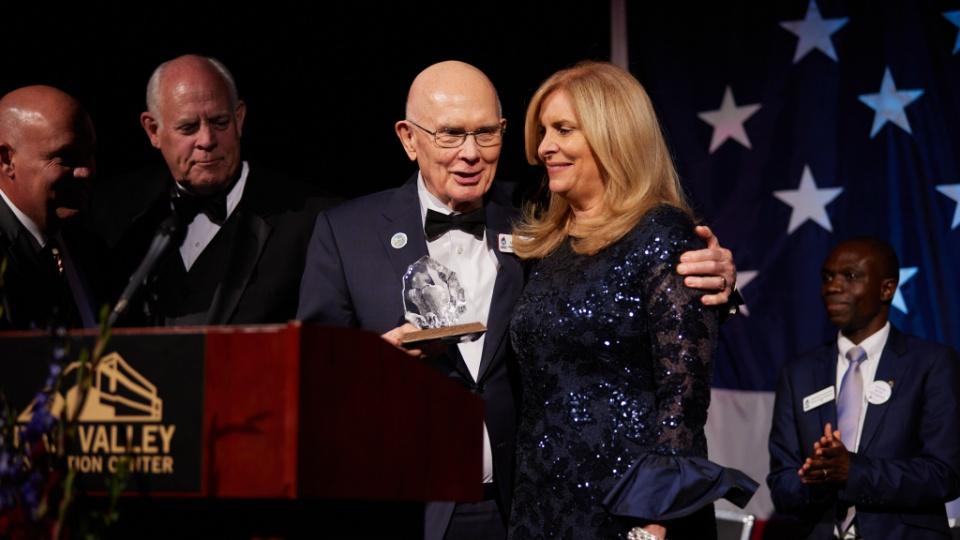 President Oaks Receives Prestigious Freedom Award