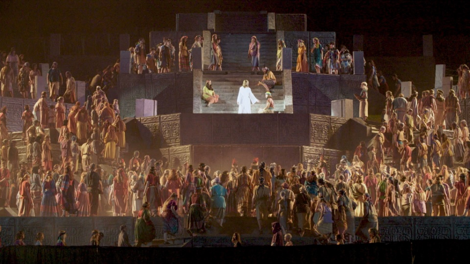 Elder Christofferson Pays Tribute to the Hill Cumorah Pageant's Long Run